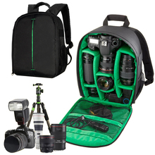 Pattern DSLR Camera Bag w/ Rain Cover Backpack Video Photo Bags for Camera D3200 D7100 Small Compact Camera Backpack IP-01