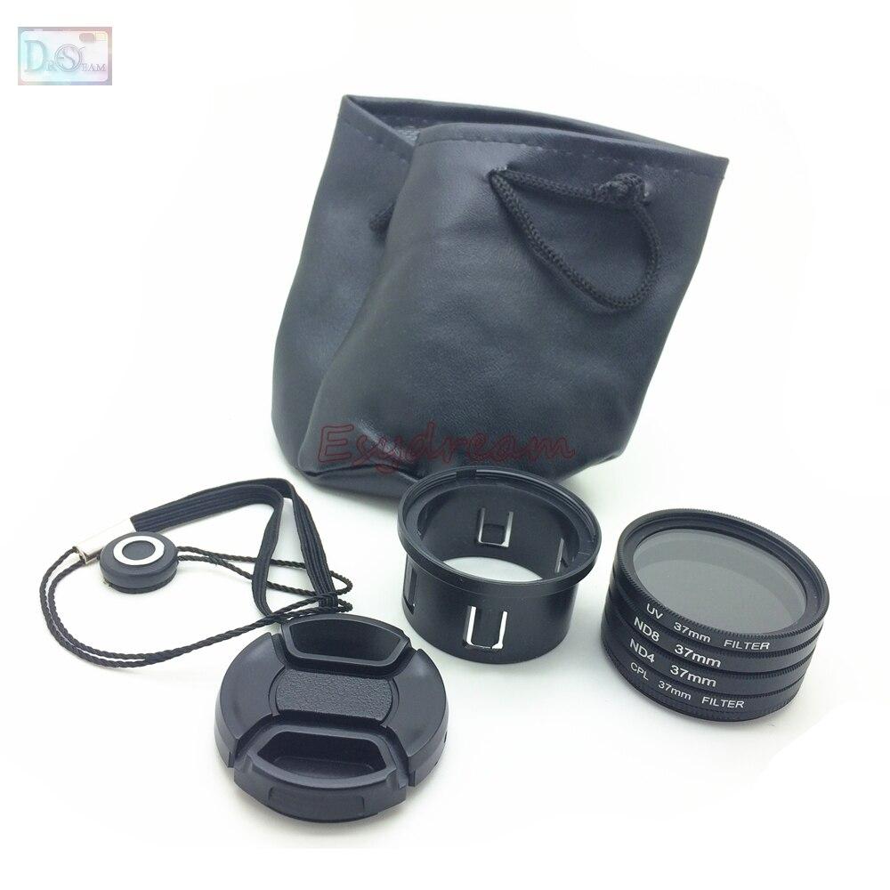 37 Filtre Kit UV + CPL + ND4 + ND8 + Adaptateur Anneau Tube + Lens Cap pour DJI Phantom 3 Standard Professionnel Avancé SE Phantom 4