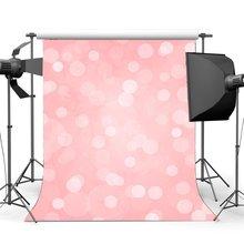 Bokeh ฉากหลังสำหรับถ่ายภาพ Glitter Sequins เด็กพื้นหลังสีชมพู Sweet Baby Shower หญิง