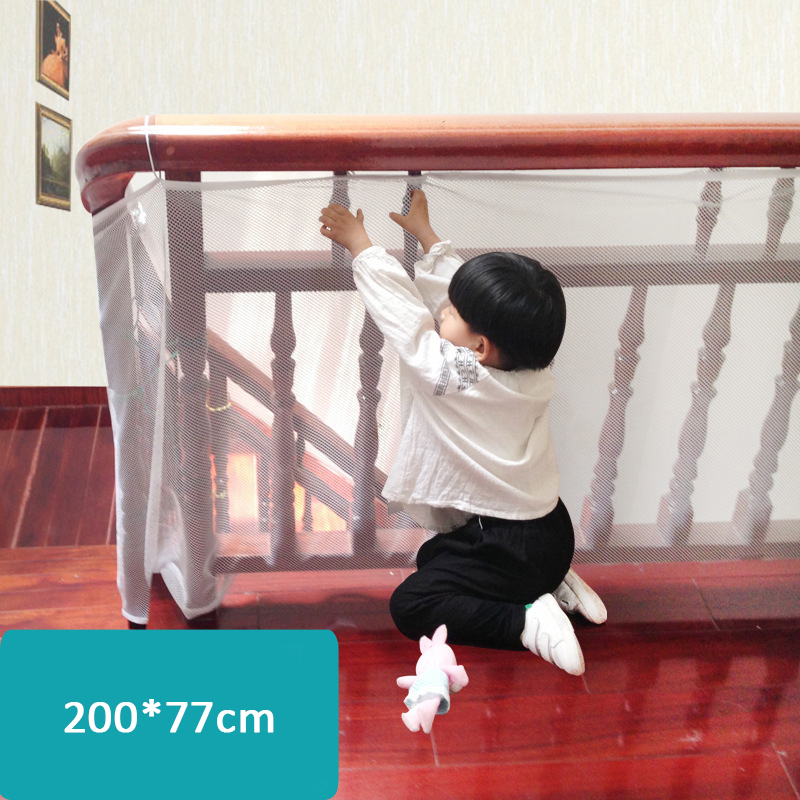 Child Balcony Stairs Safety Net Kid Safe Deck Guard Baby Playpens Mesh Net Protector for Baby Indoor Outdoor