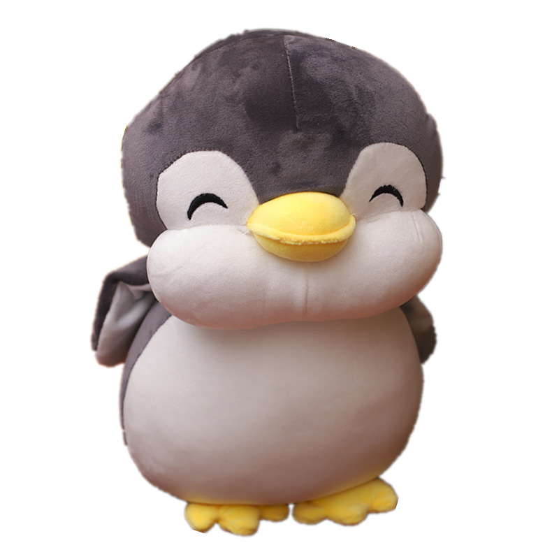 2019 New Soft fat Penguin Plush Toys Staffed Cartoon Animal Doll Fashion Toy for Kids Baby Lovely Girls Christmas Birthday Gift