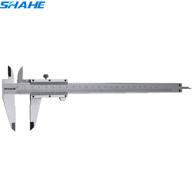 0-200 mm Stainless steel Vernier Scale Caliper Gauge Caliper rule Calliper vernier caliper 200 mm 0 20 mm manual welding seam gauge weld inspection caliper gauges
