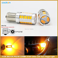 2 pcs Dashboard Led Car Bulbs 1156 BAU15S PY21W Amber Yellow 33SMD 5730 5630 High Power LED Turn Signal Light Bulb Car-styling