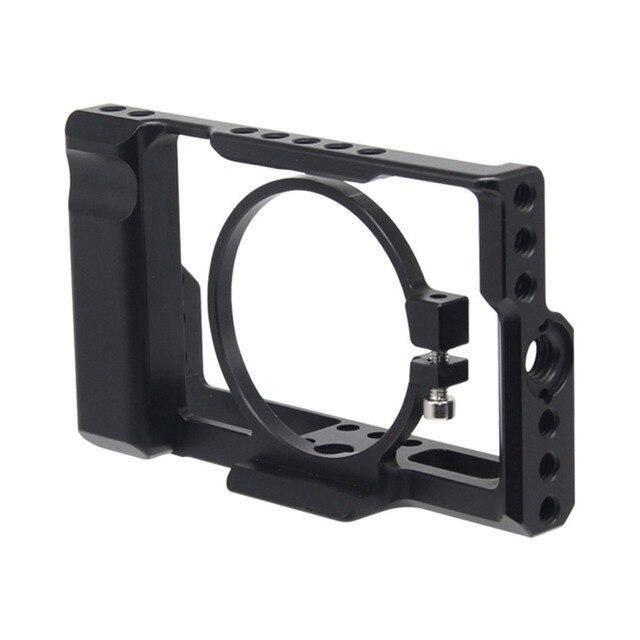 RX100M3 / RX100M4 / RX100M5 Camera Cage for Sony DSC RX100 III(M3) IV(M4) V(M5) DSLR Camera Case Cage Camera Rig Cold Shoe