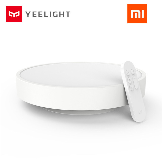 Original Xiaomi Mijia Yeelight Ceiling Light Lamp IP60 Dustproof WIFI And Bluetooth Wireless Smart Mi Home APP Remote Control