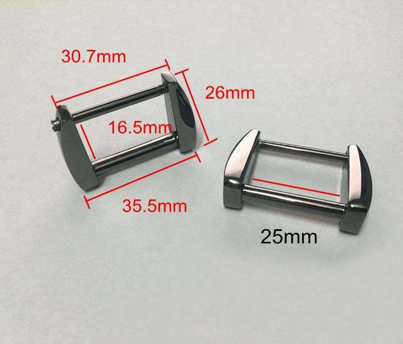 500 шт оптовый заказ 25 мм (1 дюйм) Сплав gunmetal цвет для сумки ручной работы сумки ремень вешалки Табличные пряжки,