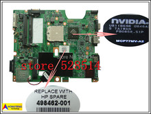 original 498462-001 for HP CQ60 motherboard Series / DDR2/ Integrated 100% Test ok