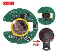 Keyecu şarj edilebilir pil uzaktan kumanda kurulu CAS sistemi 315LP/315 MHZ/433 MHZ/868 MHZ için BMW Mini Cooper 2007-2014 (hiçbir anahtar kabuk)
