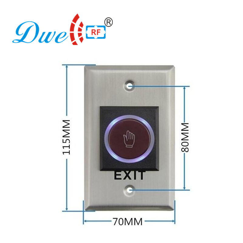 DWE CC RF access control hand shape no touch button infrared NO NC COM switch with 12V dwe cc rf access control hand shape no touch button infrared no nc com switch with 12v