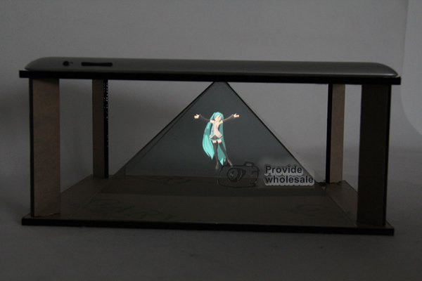 Exhibition Display Table : Diy d holographic projection pyramid for ipad