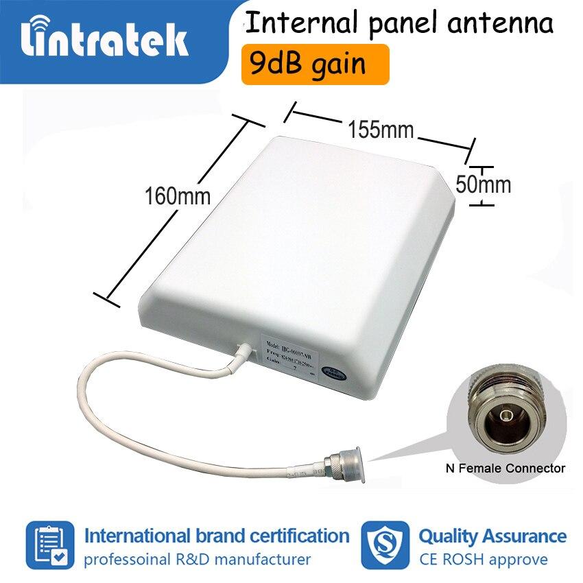 Lintratek 2G 3G 4G Tri bande amplificateur de Signal de téléphone portable GSM W-CDMA LTE 900 1800 2100 mhz amplificateur répétiteur Kit complet S50 - 5