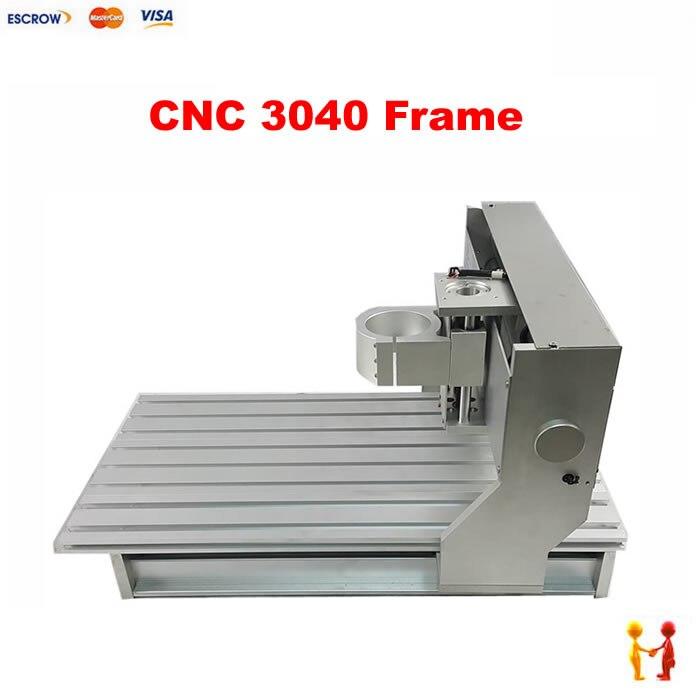 סיטונאי זול מדרגות עץ cnc הנתב 3d cnc 3040 חלקי חילוף מסגרת עבור diy