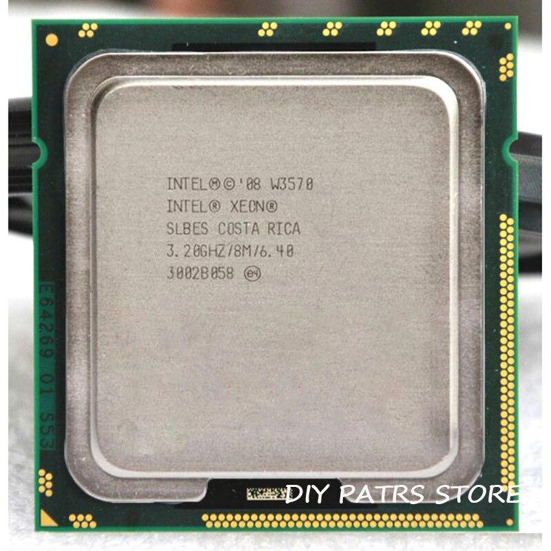 INTEL XONE W3570 Quad core 3.2 MHZ LeveL2 8 M 4 core TRAVAIL POUR lga 1366 montherboard