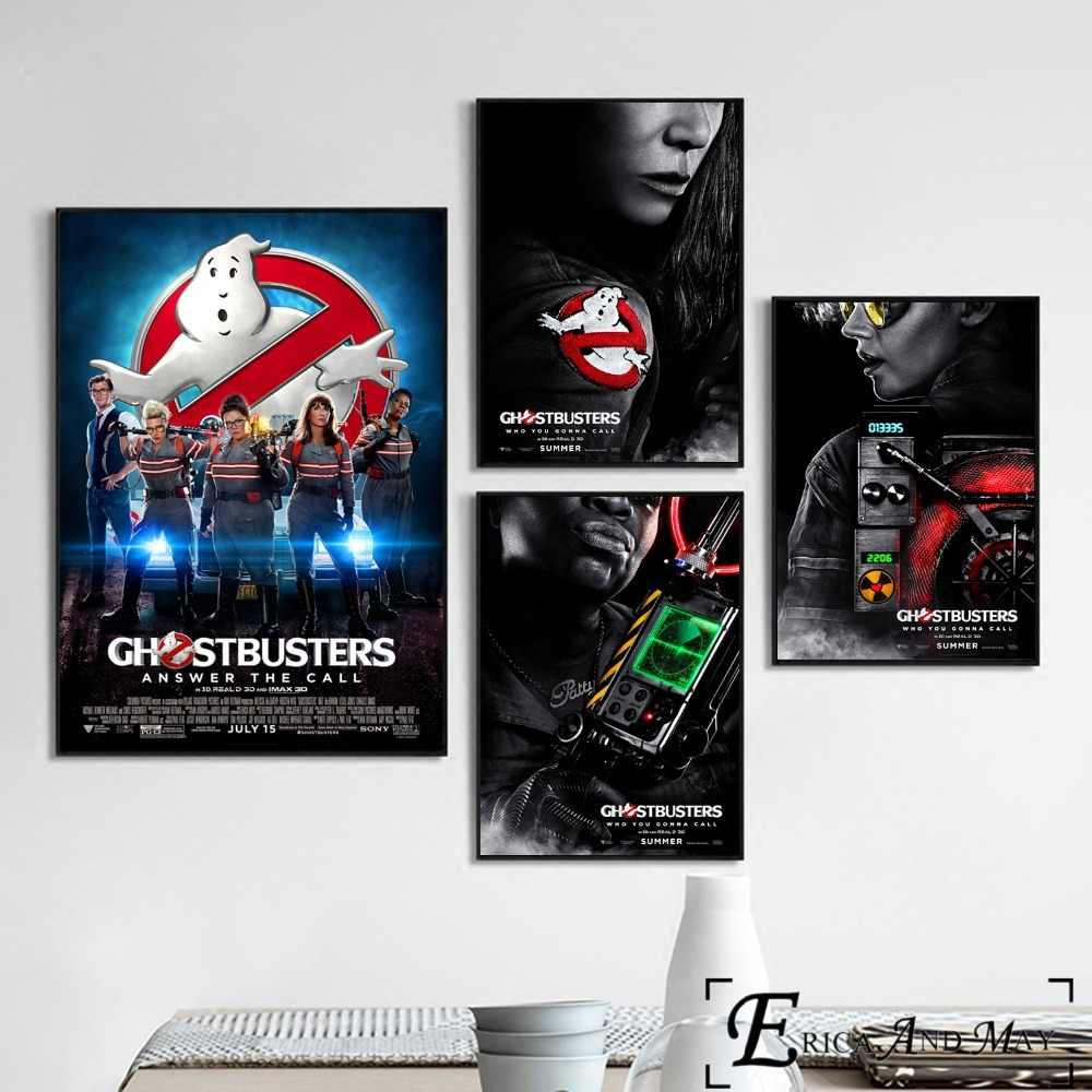 Classic 80/'s Ghost Movie Wall Art Poster Canvas Picture Prints Ghostbusters