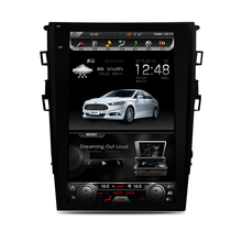 Otojeta Vertical 12.1 inch hd Android 6.0 car multimedia dvd recorder for Ford new Mondeo 2013-2016 gps navi autoradio BT stereo