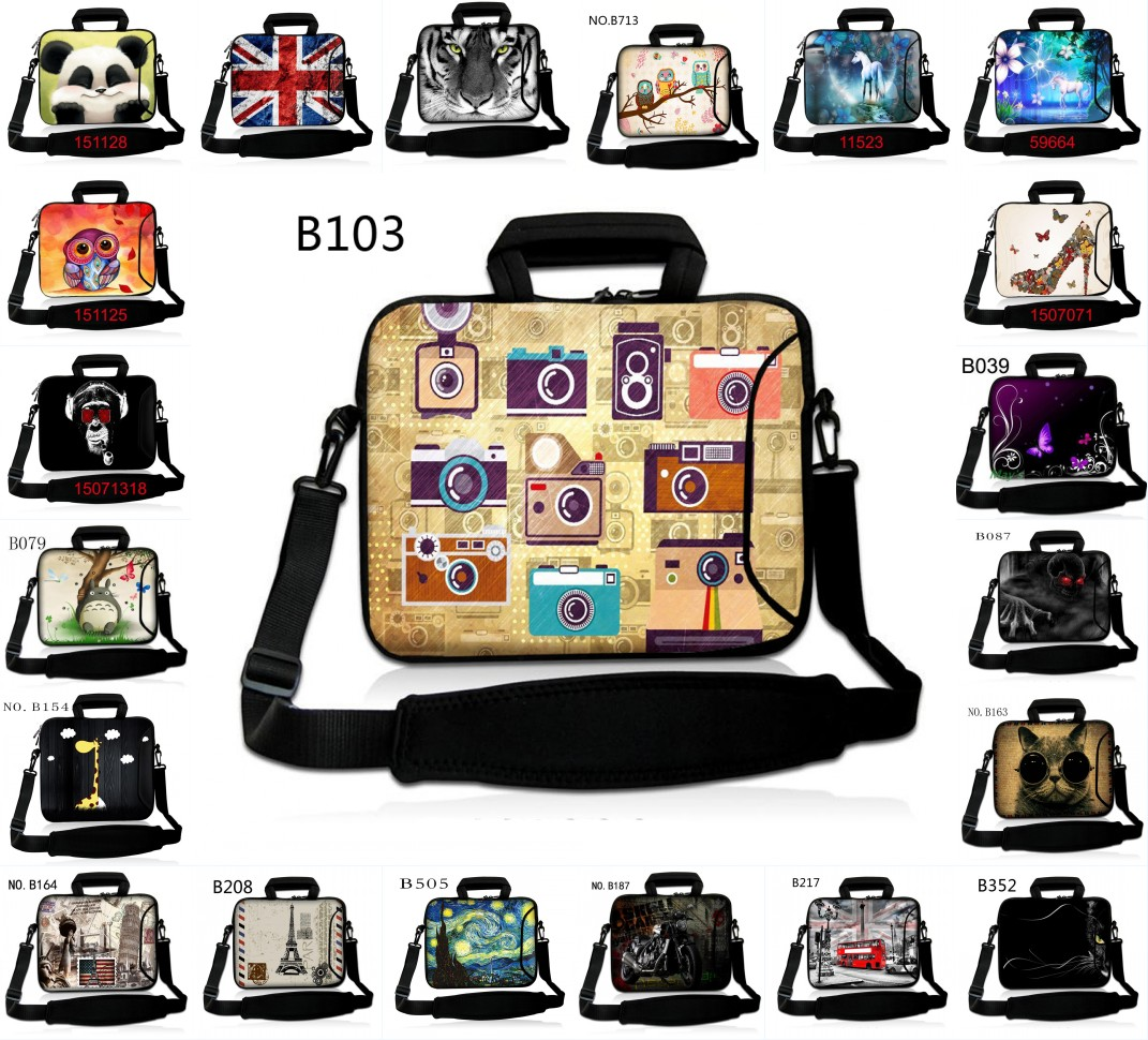 Laptop 15.6 Bag 13.3 12 14 11.6 10.1 7.9 17 Laptop Shoulder Bag Messenger Bag Computer Sleeve For Macbook Air Pro Dell Notebook