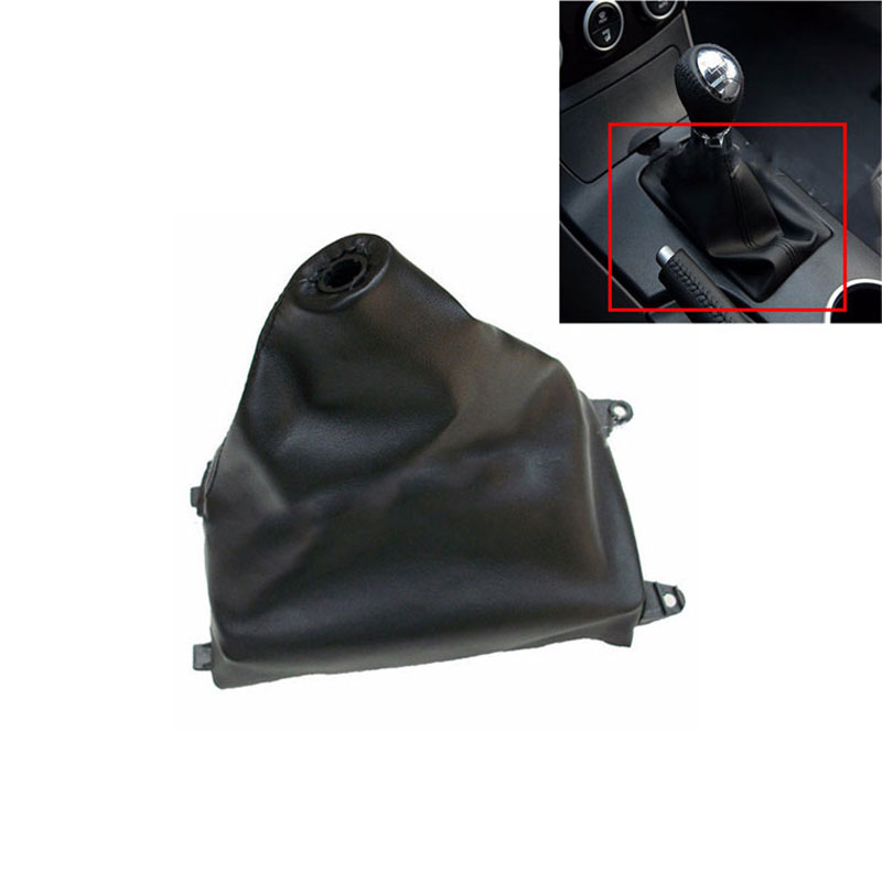 Car Shift Gear Knob PU Leather Boot Gaitor For MAZDA 6 2002 2003 2004 2005 2006 2007 Car Styling Accessories
