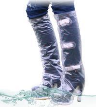 Shoes Rain Protection High – heeled Rain – proof Shoes Women 's Outdoor Anti – fouling Anti – dirt Dust Aand Waterproof Shoes