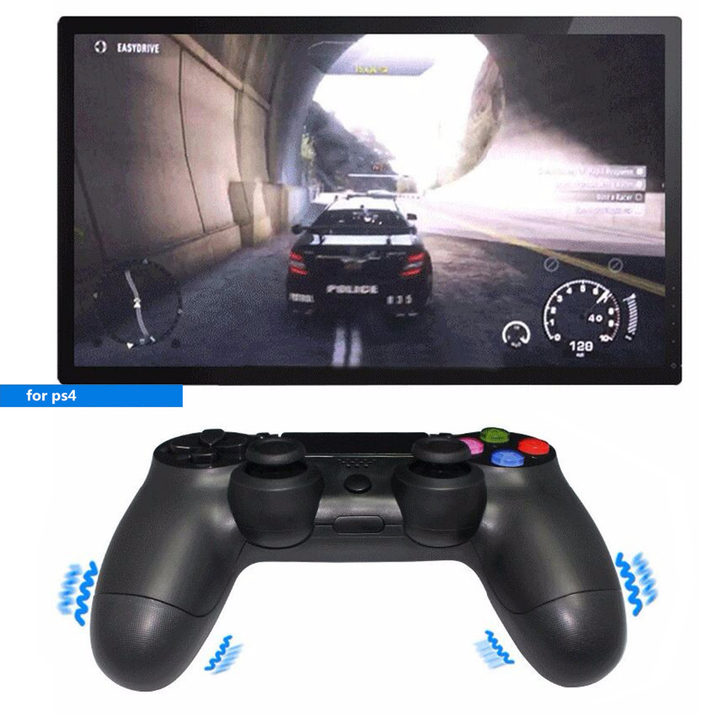 LNOP 2.4G wireless gamepad for Sony PS4 controller Playstation 4 Console Dualshock 4 Game joystick For Play station 4 sixaxis sixaxis blueloong 2pcs red and blue color wireless bluetooth joystick gamepad for dualshock 3 playstation 3 ps3 controller
