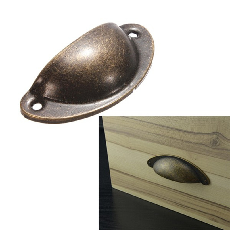 1pc Retro Metal Kitchen Drawer Cabinet Door Handle