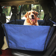 Animal Car Seat Covers Flodable Oxford Travel Accessories Dogs Cushion Vehicle Waterproof Mat Bag Pet Cat Nets