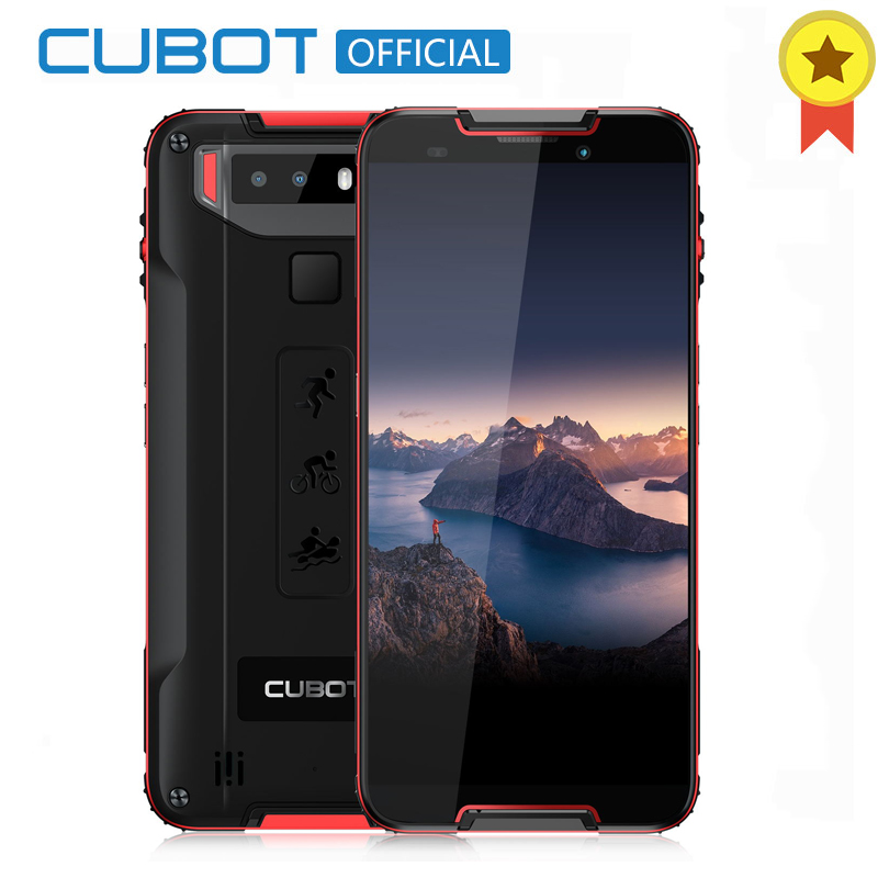 Cubot Quest Sports Phone Android 9.0 IP68 Waterproof MT6762 Octa-Core 4GB 64GB 5.5