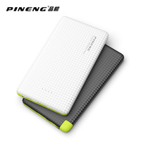 PINENG 5000mAh Mobile Power Bank Fast Charging External Battery Portable Charger Li Polymer Battery For Android