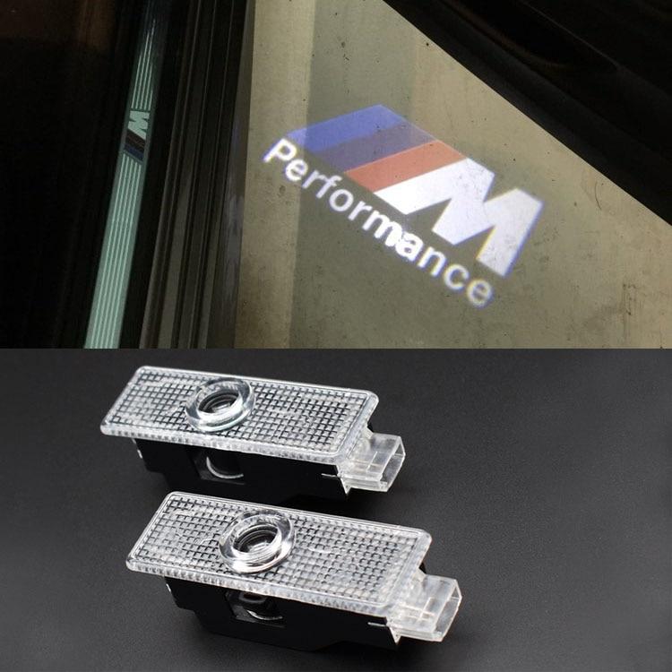 2X Car Door LED Light Logo Projector For BMW 1 3 5 7 Series E90 E91 E92 E93 E60 E61 F10 F07 E63 E64 F12 F13 X3 Car Accessories