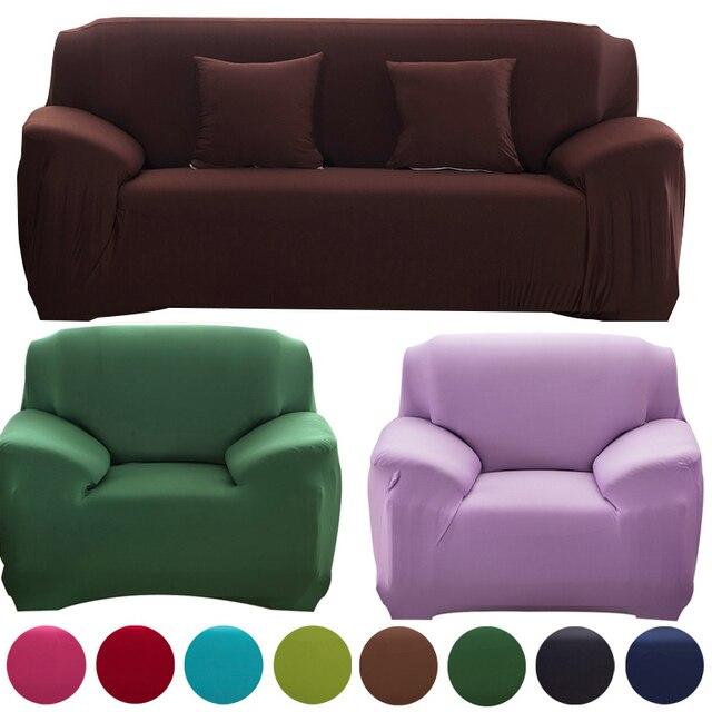 Couverture sur le canapé d angle housses universel Causeuse fauteuil