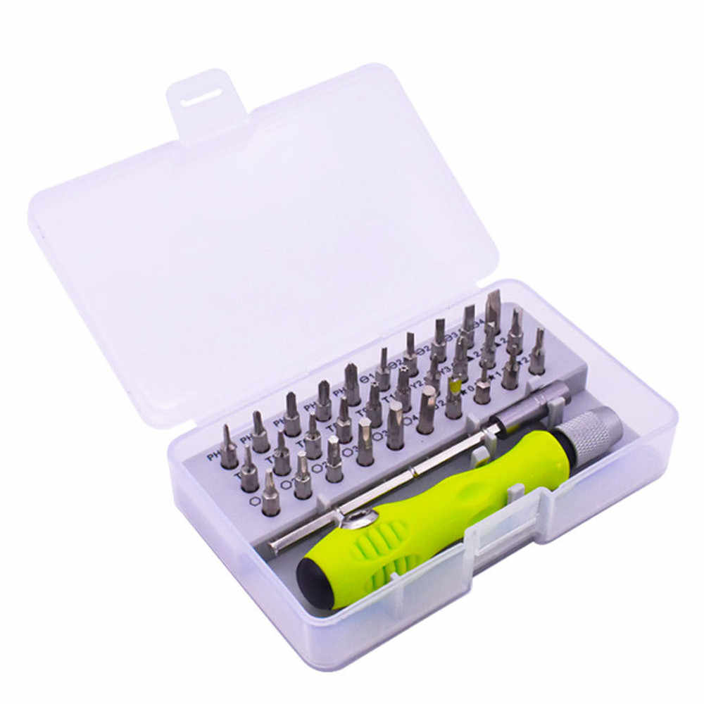 Precision Screwdriver Set of 32 in 1 mini magnetic Screwdriver Set, phone Mobile iPad Camera maintenance tool torx