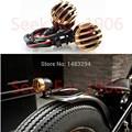 Black Bullet Golden Grille Rear Indicators Brake Tail Light Fits For Harley Davidson Sportster 883 1200 XL Bobber Chopper Custom