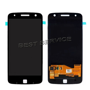 """Image 2 - 5.5"""" AMOLED LCD For Motorola Moto Z LCD Display Touch Screen Digitizer Replacement For MOTO Z Droid Display XT1650 XT1650 03 LCD"""