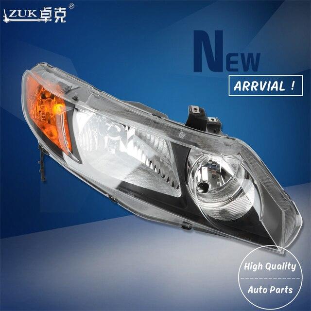 Zuk Brand New High Quality Left Right Front Headlight Headlamp Head Light Lamp For Honda Civic 2006 2007 2008 Fa1 Hybrid