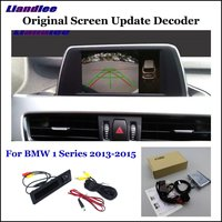 Liandlee For BMW 1 Series F20/F21/F52 Car Original Screen Update System Rear Reverse Parking Camera Digital Decoder Display Plus