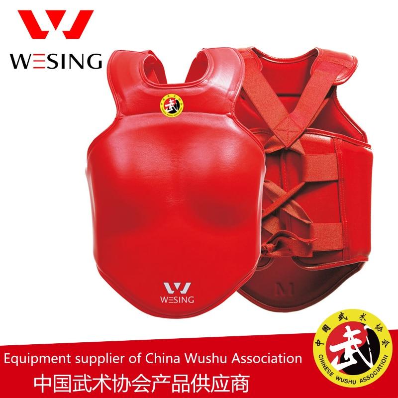 Wesing sanda brystvagt wushu sanshou kropsbeskytter kampsport - Sportsbeklædning og tilbehør - Foto 3