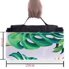 Folding Picnic Blanket Oxford Picnic beach Mat Rug Blanket Outdoor Camping Beach Travel BBQ Pad Moistureproof Waterproof @15(China)