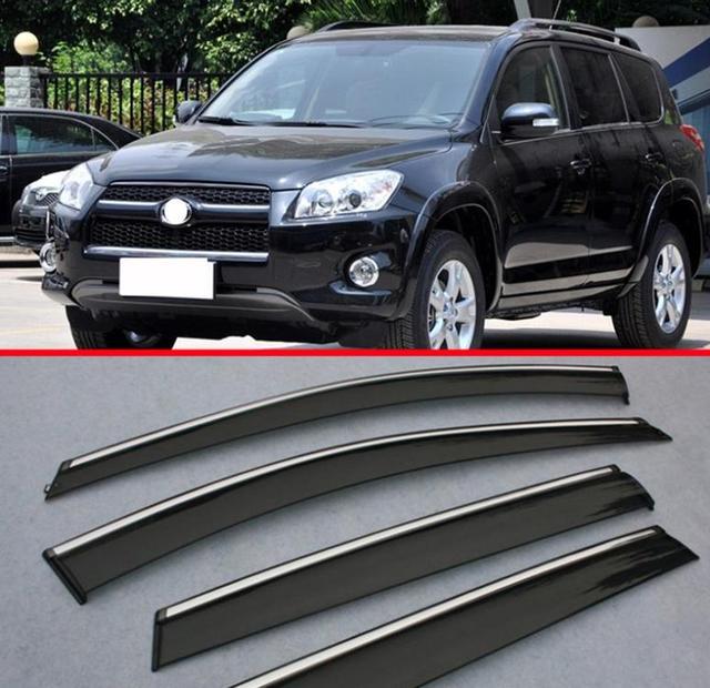 For Toyota RAV4 2009 2010 2011 2012 Window Wind Deflector Visor Rain/Sun Guard Vent 4p