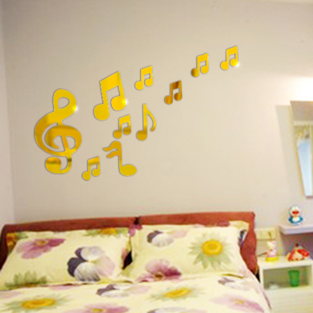 Fine Music Note Wall Decor Ensign - The Wall Art Decorations ...