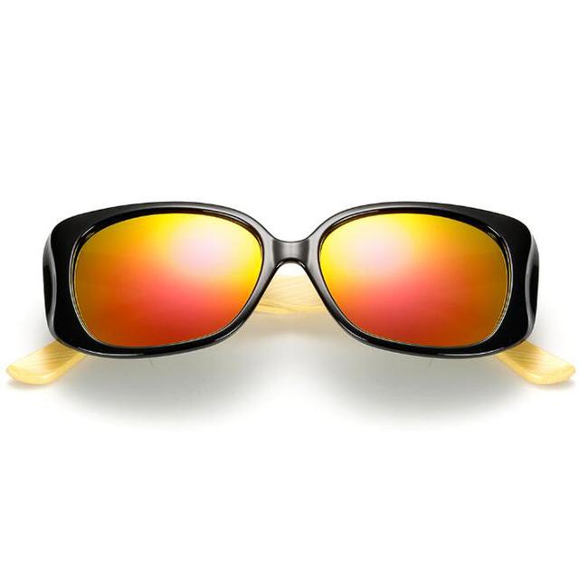 Women's Wooden Fashion Sunglasses