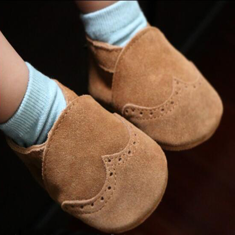 2016new cute suede Genuine Leather Baby moccasins first Walkers Soft toddler Fringe crib shoes baby newborn 0-30month chaussures sayoyo brand genuine cow leather baby moccasins snail toddler infant footwear soft soled baby boy shoes pre walker free shipping