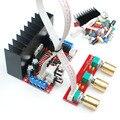 TDA7377 2.1ch усилитель Одной державы компьютер super bass 2.1 усилитель мощности доска 3 канала звуковой усилитель TDA7377 DIY люкс