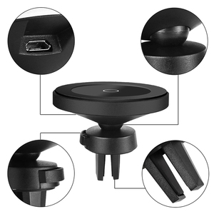 Image 3 - Bonola Magnetic Wireless Car Charger for iPhone 11/11Pro/11ProMax/XsMax/Xr/8 Qi Car Phone Wireless Charger For Samsung S10/S9/S8
