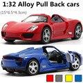 Escala 1:32 aleación PORSCHE918 SPYER, roadster, aleación de nuevo modelo, los niños juguetes de coche, envío libre