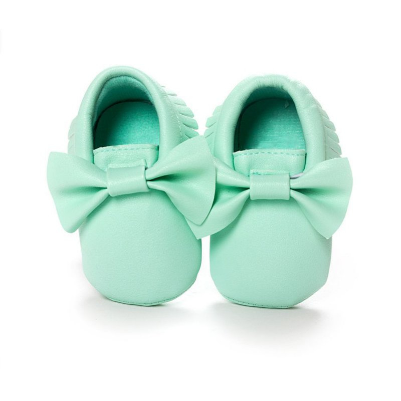 2016 New Tassels Baby Moccasin Newborn Babies Shoes Soft Bottom PU leather Prewalkers Boots SL01