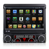 Quad Core Android 4 4 HD 1 Din 7 Universal Car Audio Car Dvd Gps With