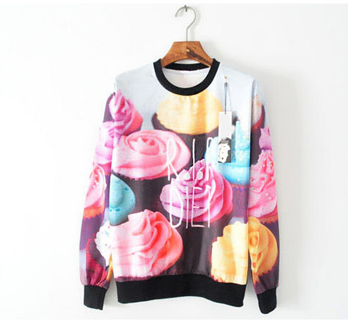Online Shop Cute Sweatshirts Hot Sale Women Clothes 2015 New Fall ...