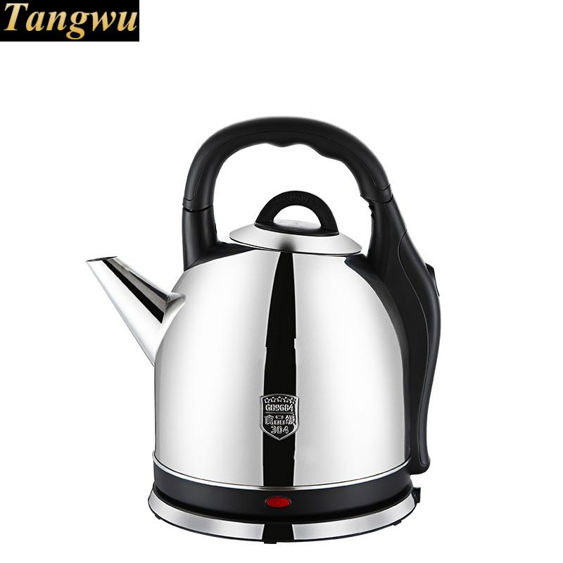 High quality Electric kettle 304 stainless steel kettles large capacity open Safety Auto-Off Function new high quality electric kettle 304 stainless steel kettles home cooking automatic blackouts safety auto off function