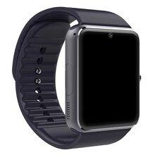 Smart watch gt08 uhr sync notifier unterstützung sim-karte bluetooth-konnektivität samsung android phone smartwatch