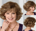 New Synthetic Wigs Curly Short  hair Wigs for women free shipping