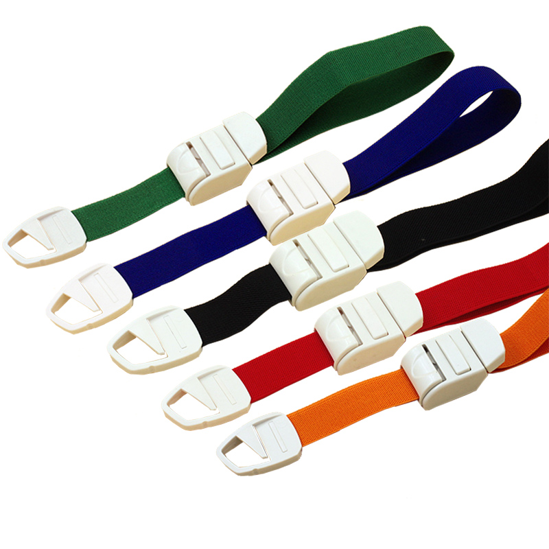 Multi-color Medical Elastic Quick Release Tourniquet First Aid Buckle Type Tourniquet Essential Rubber Emergency Tourniquet